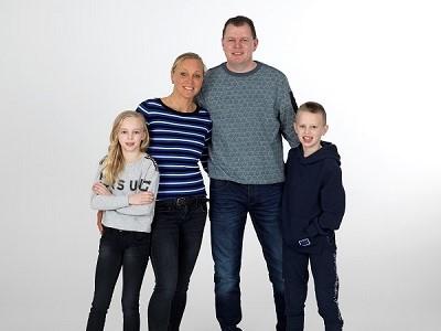 Miranda, Wim, Anouk en Wim